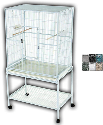 "A&E Cage 13221 Sandstone 32""x21"" Flight Cage & Stand - Peazz Pet"