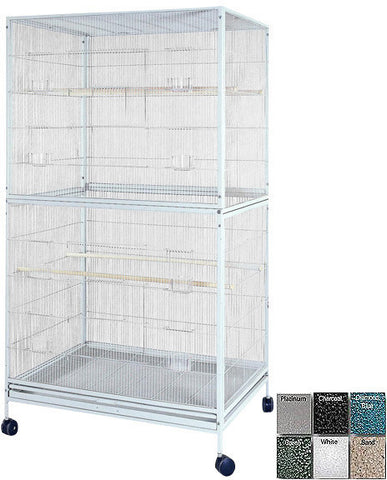 "A&E Cage 4030FL Platinum 40""x30"" Extra Large Flight Cage - Peazz Pet"