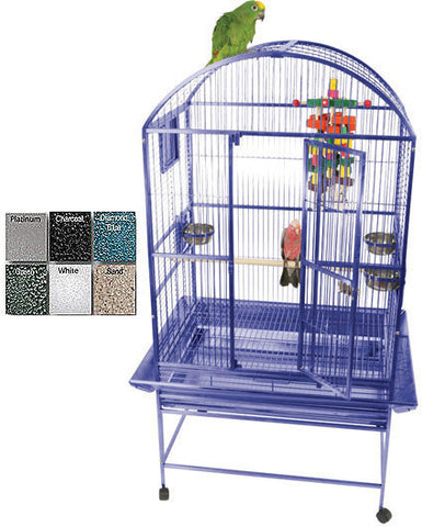 A&E Cage 9002422 Sandstone Medium Dome Top Bird Cage - Peazz Pet