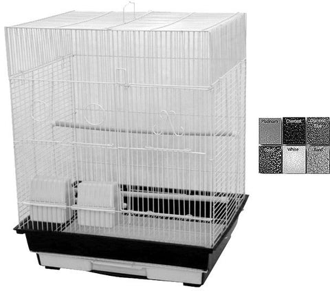 "A&E Cage AE1814F Charcoal 4 Pack of 18""x14"" Flat Top Cage - Peazz Pet"