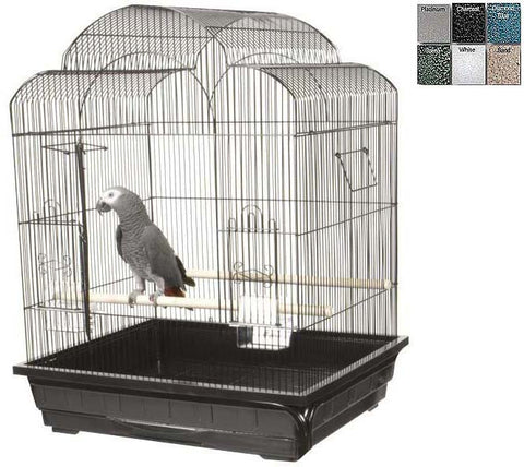 "A&E Cage AE29626 Ivory 2 Pack of 25""x21"" Victorian Cage - Peazz Pet"