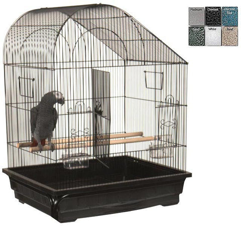 "A&E Cage AE29627 Black 2 Pack of 25""x21"" Slant Top Cage - Peazz Pet"