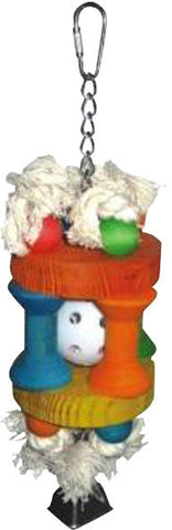 A&E Cage HB46341 Wiffle Ball in Solitude Bird Toy - Peazz Pet