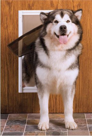 PetSafe Classic Pet Door X-Large White (AK50-601-11) - Peazz Pet