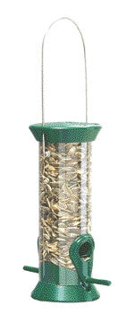 Sunflower Feeder Green 8 Inch (Cjm8G) - Peazz Pet