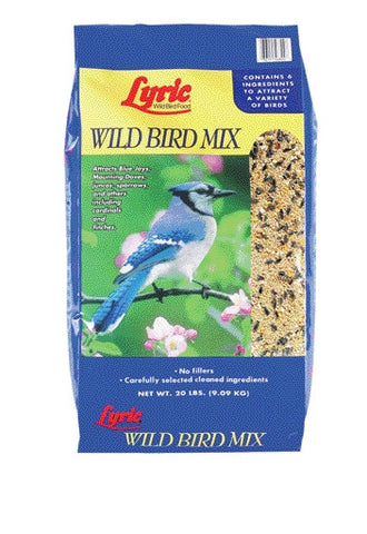Lyric Wild Bird Mix 20 Pound (26-46824) - Peazz Pet