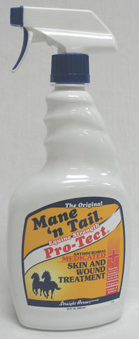 Mane-Tail Pro-Tect Wound Spray 32 Ounce (544646) - Peazz Pet