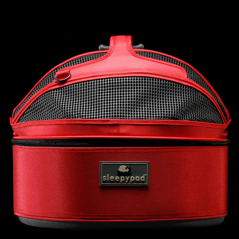 Sleepypod SP-RED Mobile Pet Bed (Strawberry Red) Medium - Peazz Pet