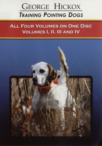 D.T. Systems Pointing Dog DVD Collection Vols. 1-4 D050 (D050) - Peazz Pet