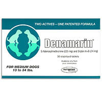 Denamarin 225mg for Dogs 13 to 34 lbs - Green (30 Tablets) - Peazz Pet