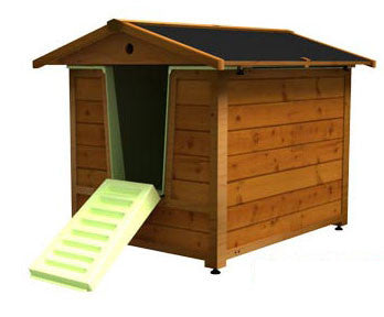 DoggyShouse Grooming Kennel - 3 ft x 4 ft x 3 ft (SHOUSE) - Peazz Pet