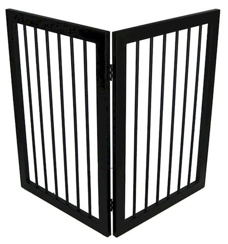 Mission 2 Panel Free Standing Dog Gate - Peazz Pet