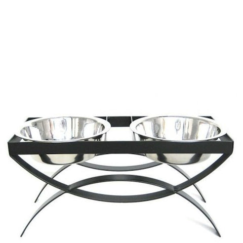 SeeSaw Elevated Dog Bowls - Medium - Peazz Pet