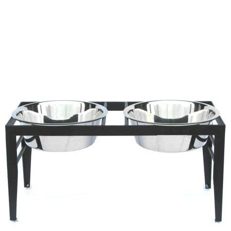 Chariot Elevated Dog Bowls - Large - Peazz Pet