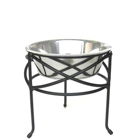 Mesh Elevated Dog Bowl - Medium - Peazz Pet