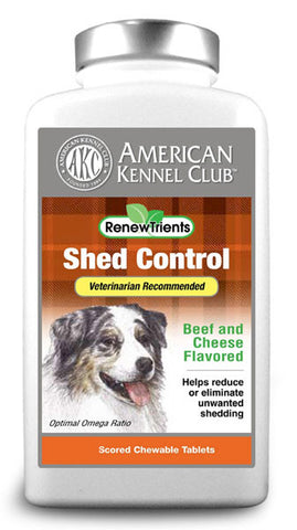 AKC RenewTrients Shed Control- 50 Tablet (SuppShed50) - Peazz Pet