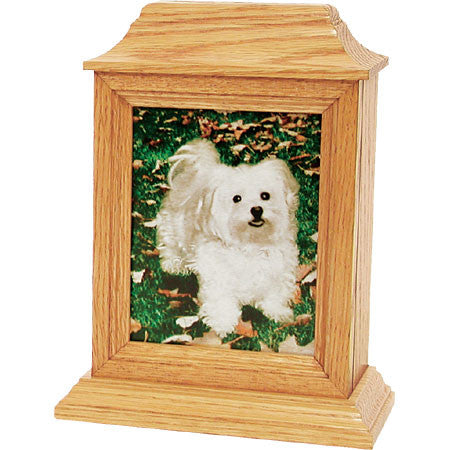 Hanover Series Pet Urns (Light Oak Finish) - Peazz Pet