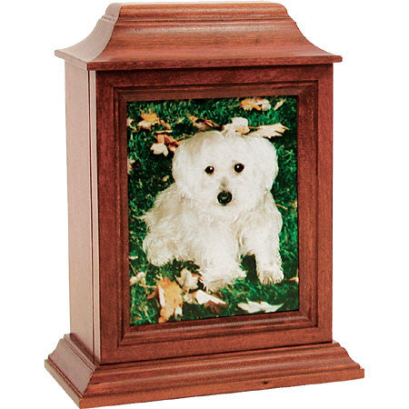 Hanover Series Pet Urns (Medium Cherry Finish) - Peazz Pet