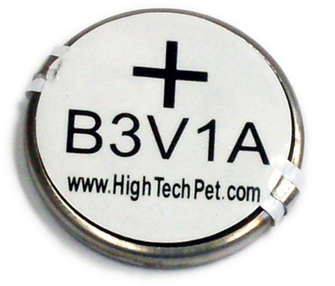 High Tech Pet B-3V1A-1P Ultrasonic Collar Battery, for MS-4 and MS-5 Pet Collars 1-Pk - Peazz Pet