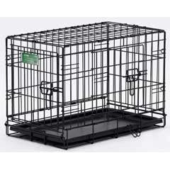 MidWest 24X18X19 Double Door I-Crate (I-1524DD) - Peazz Pet
