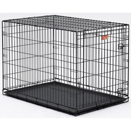 MidWest 42X28X30 Single Door I-Crate (I-1542) - Peazz Pet