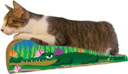 Imperial Cat Animal Scratch 'n Shapes Large Crocodile - Peazz Pet