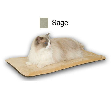 K&H Manufacturing Sage Thermo Kitty Mat 12.5 x 25 (KH3293) - Peazz Pet