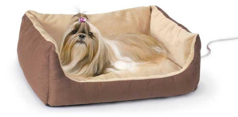 K&H Thermo Pet Cuddle Cushion Pet Bed Medium (KH4061) - Peazz Pet