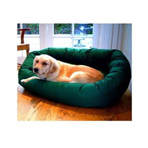 "Majestic Pet Small 24"" Bagel Bed - Green - Peazz Pet"