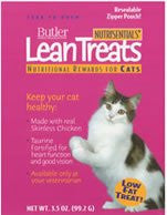 Lean Treats for Cats, 3.5 oz., 10 Pack - Peazz Pet