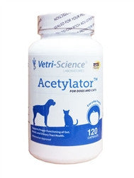Acetylator For Dogs & Cats, 120 Capsules - Peazz Pet
