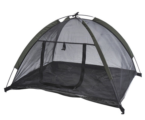 "MDOG2 TT1292 Outdoor Mesh Pet Camping Tent w/ Fiberglass Rod - 35"" x 28"" - Peazz Pet"