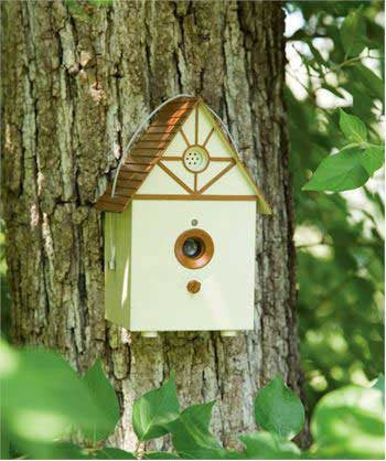 Petsafe Outdoor Bark Control Birdhouse (PBC00-11216) - Peazz Pet