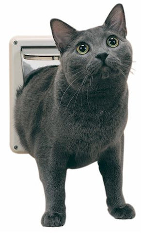 PetSafe Deluxe Locking Cat Flap (P1-4W-11) - Peazz Pet