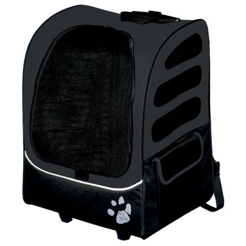 Pet Gear I-GO2 Traveler Plus - Black (PG1280BK) - Peazz Pet