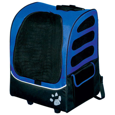 Pet Gear I-GO2 Traveler Plus - Ocean Blue (PG1280OB) - Peazz Pet