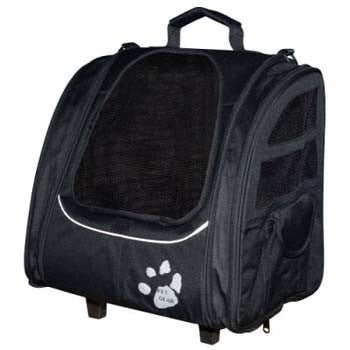 Pet Gear I-Go2 Traveler - Black (PG1240BK) - Peazz Pet