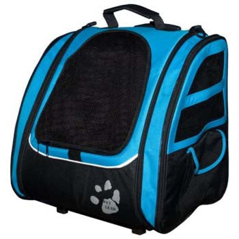 Pet Gear I-Go2 Traveler - Ocean Blue (PG1240OB) - Peazz Pet
