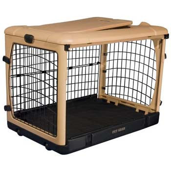 "Pet Gear The Other Door Steel Crate 27"" (PG5927TN) - Peazz Pet"