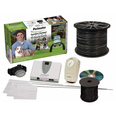 Perimeter Deluxe Ultra Comfort Contact Plus System 18 Gauge Wire (PTPCC-200DP) - Peazz Pet