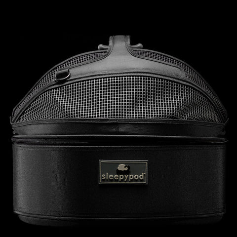 Sleepypod SP-BLK Mobile Pet Bed (Jet Black) Medium - Peazz Pet