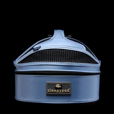 Sleepypod Mini SM-SKY Mobile Pet Bed (Sky Blue) Small - Peazz Pet