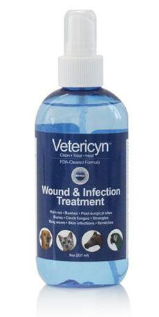 Vetericyn Wound & Skin Care, 8 oz Pump Spray - Peazz Pet