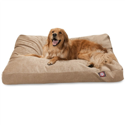 Majestic Pet Products Pearl Villa Collection Extra Large Rectangle Pet Bed - Peazz Pet