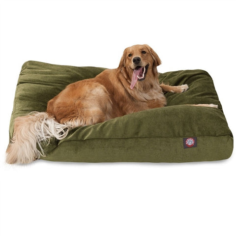 Majestic Pet Products Fern Villa Collection Extra Large Rectangle Pet Bed - Peazz Pet