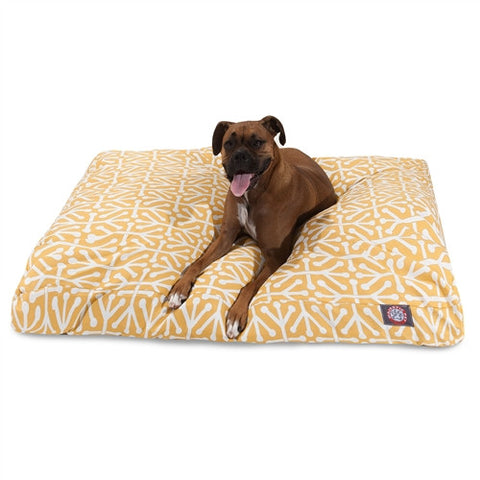 Majestic Pet Products Citrus Aruba Extra Large Rectangle Pet Bed - Peazz Pet