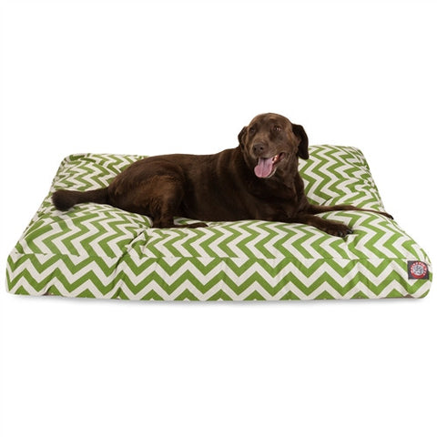 Majestic Pet Products Sage Chevron Extra Large Rectangle Pet Bed - Peazz Pet