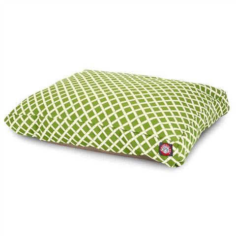 Majestic Pet Products Sage Bamboo Extra Large Rectangle Pet Bed - Peazz Pet