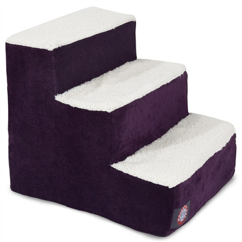 Majestic Pet Products 3 Step Villa Aubergine - Peazz Pet