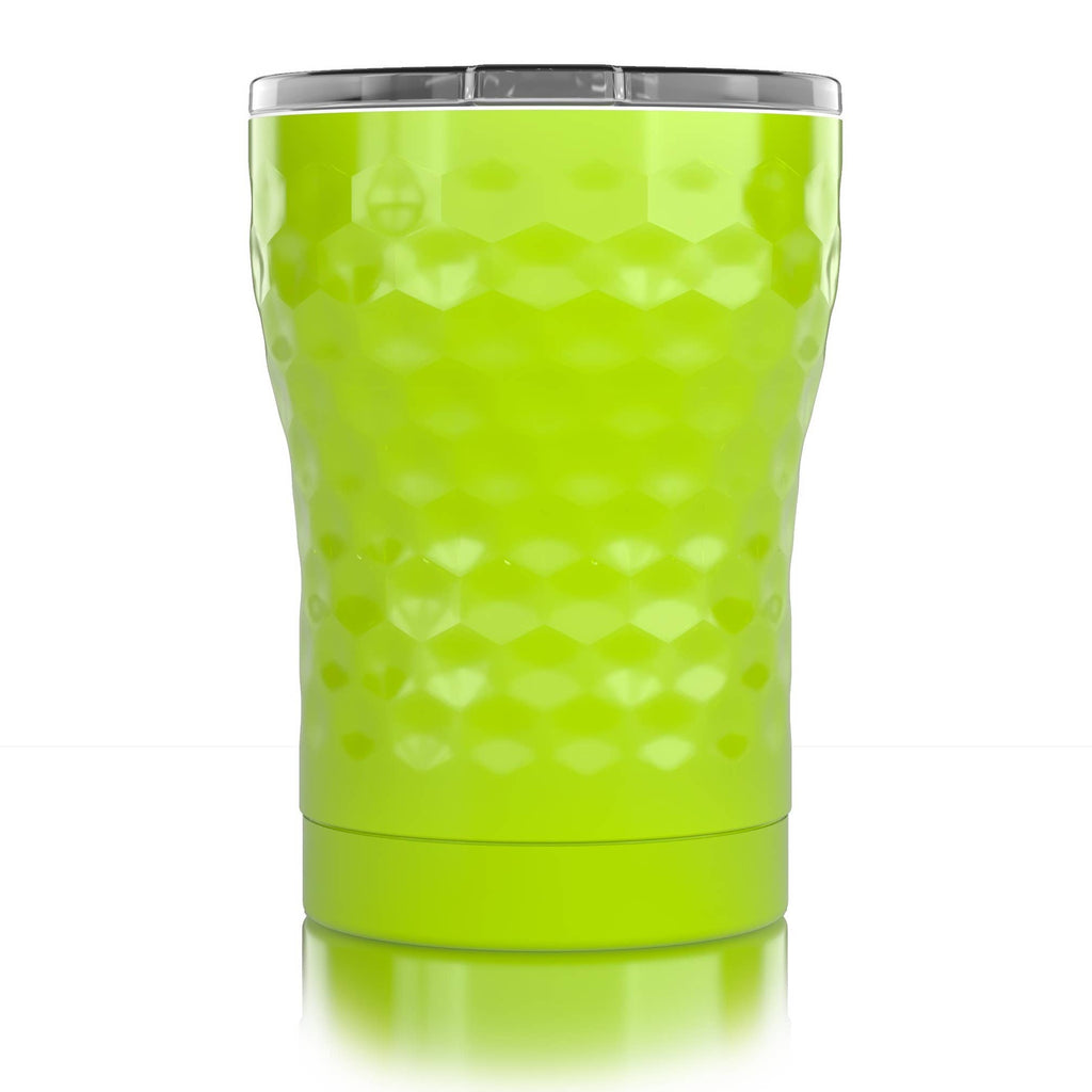 12 oz. Dimpled Golf® Yellow Tumbler
